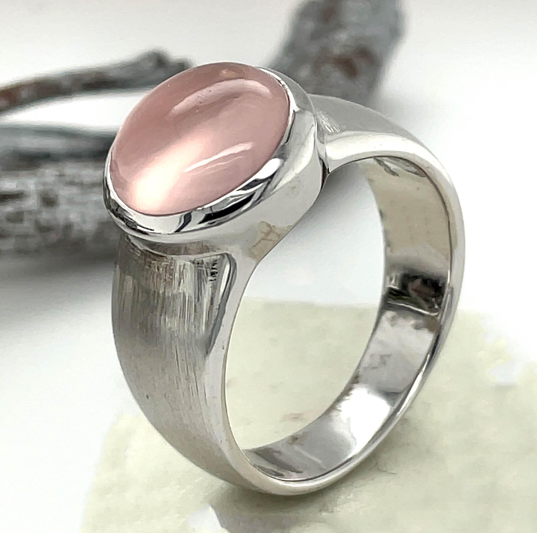 Unser Rosenquarz-Ring